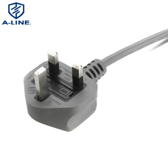Free Sample UK 250V 3 Pin Extension AC Power Cord