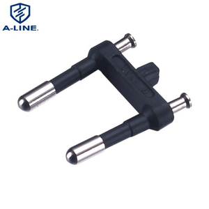 2 Pin Euro Plug Insert Without Earthing Contact