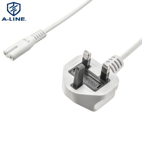 VDE Approved UK 3 Pin Power Cord with C13 Connector