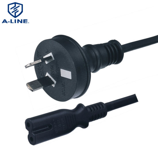 2 Pin 2.5A PVC Insulated Australian Power Extension Cord Supplier