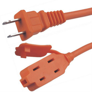 High Quality PVC Insulated Us 2 Pin Power Extension Cord