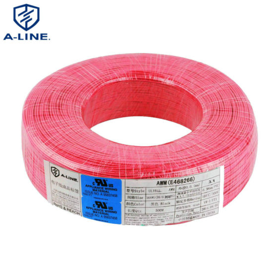 Free Sample UL 1015 30-10AWG Single Core Copper Electrical Wire
