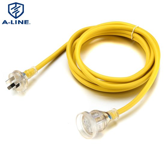 Australian Standards AC Power Cord with SAA Certfication China Factory
