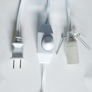 Us Lamp Power Cord with Dimmer Switch