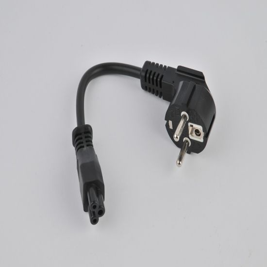 European Standard 3 Pins Power Cord with C5 Connector