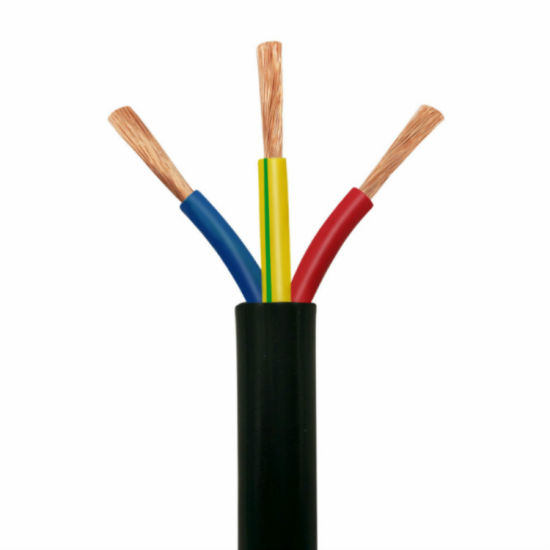 Environmentally Friendly PVC Insulated 300/300V H03VV-F Stranded Copper Electrical Wire