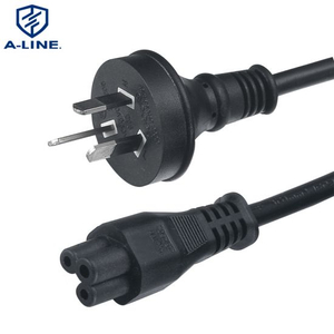 Australian Three Pins Power Cord with Qt1