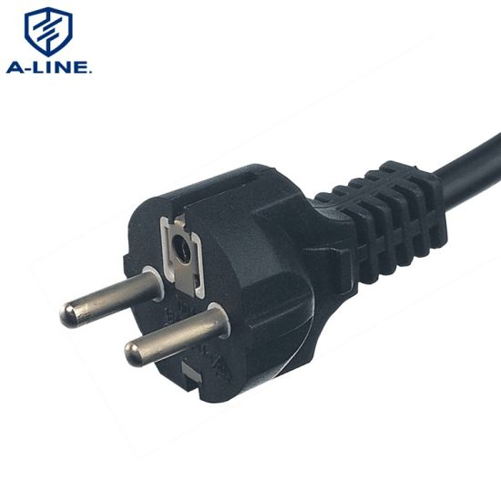 VDE Approved 3 Pins Straight AC Power Cord with C5 Connector