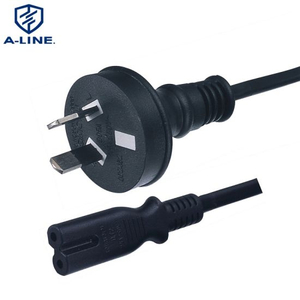 SAA Certificated Australian 2 Pins Computer Power Extension Cord Factory